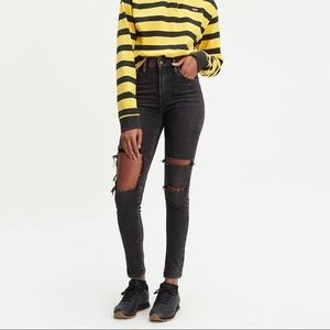 Levi's Mike High Skinny Jeans